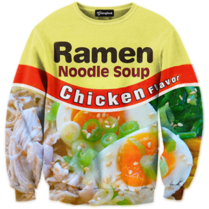 chicken ramen crewneck