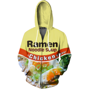 chicken ramen zip up