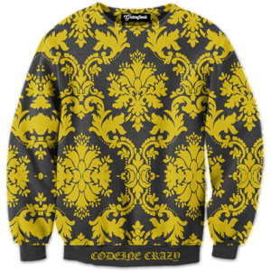 codeine crazy crewneck