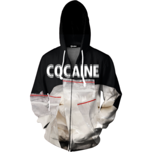 coke zip up