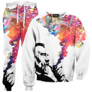 colorful smoke TRACKSUIT