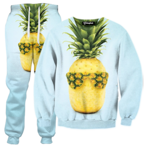 cool pineapple TRACKSUIT