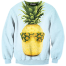 cool pineapple crewneck
