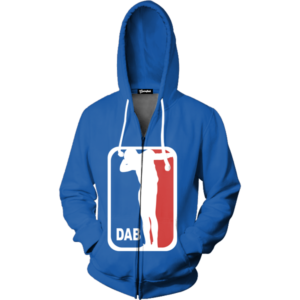 dab logo zip up