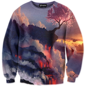 dark beauty crewneck