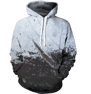 dirty surface hoodie