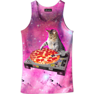 dj pizza cat tank