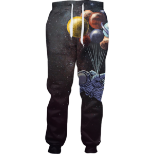 floating astronaut jogger