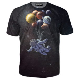 floating astronaut tee