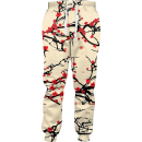 floral cherry blossom joggers