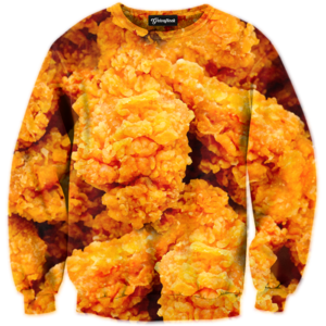 fried chicken crewneck