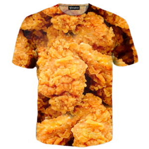 fried chicken tee