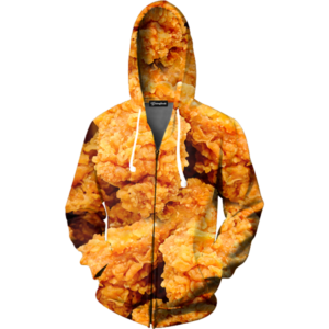 fried chicken zip up