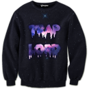 galaxy trap lord crewneck