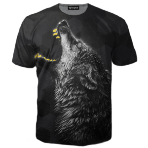 gold slugs lone wolf tee