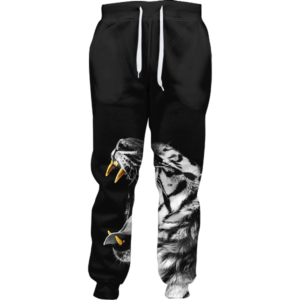 gold slugs tiger joggers