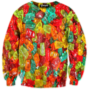 gummy bear crewneck