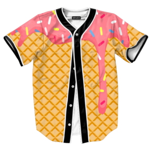 ice cream dripping jersey