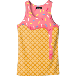 ice cream dripping tank