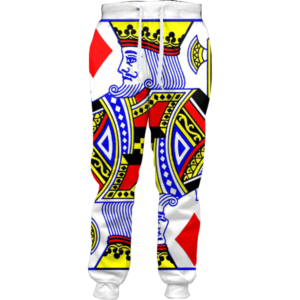 king of diamonds joggers