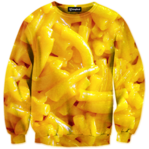 mac and cheese crewneck