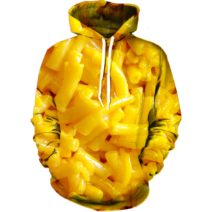 mac and cheese hoodie