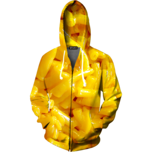 mac and cheese zip up