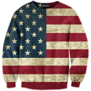 old glory crewneck