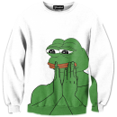 pepe the frog crewneck