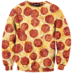 pizza v2 crewneck