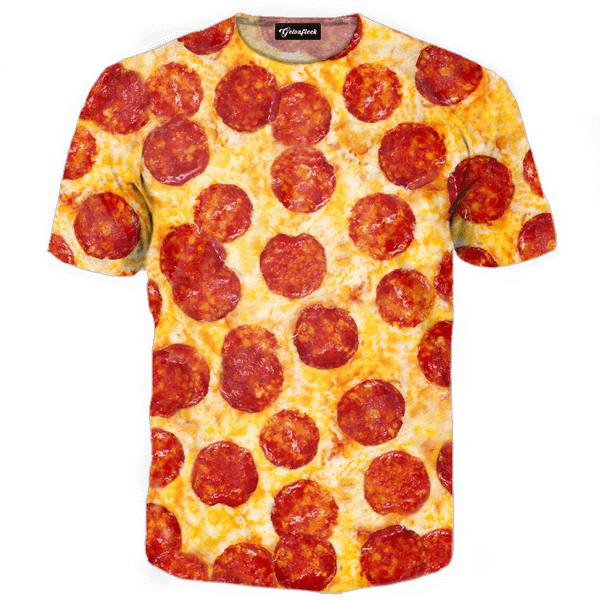Pizza Tee - All Over Print Apparel
