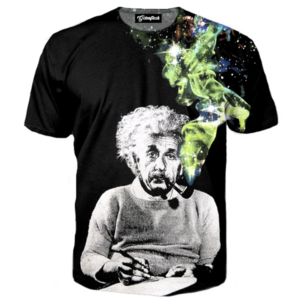 smoking einstein tee