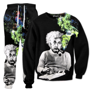 smoking einstein tracksuit