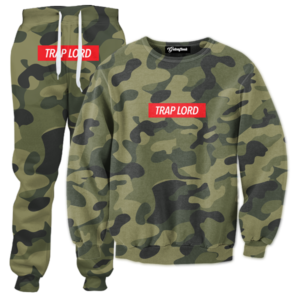 trap lord camo tracksuit