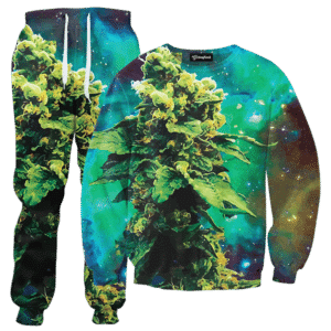 weed of galaxy TRACKSUIT