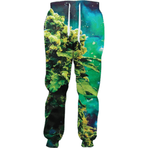 weed of galaxy joggers