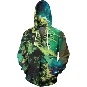 weed of galaxy zip up