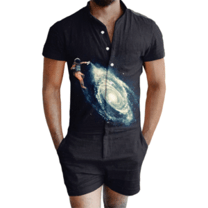 Astro Spray Romper
