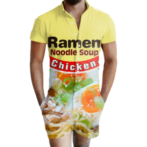 Chicken Ramen Romper