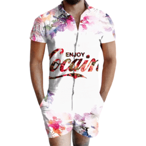 Enjoy Cocaine Romper