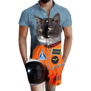 First Cat In Space Romper