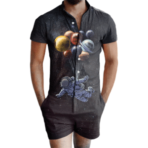 Floating Astronaut Romper
