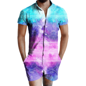 Galactic Tribe Romper