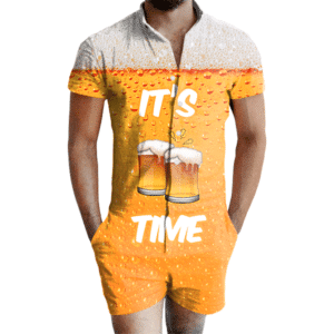 Its Beer Time Romper