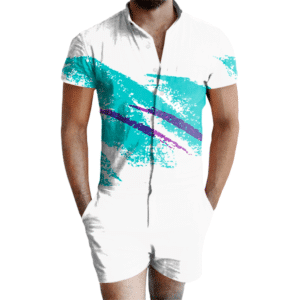 Jazzy 90s Paper Cup Romper