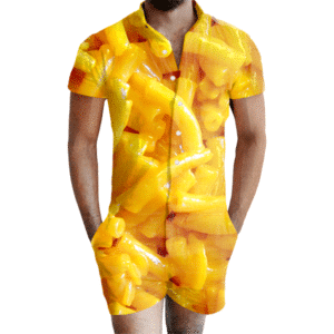 Mac and Cheese Romper