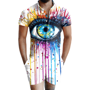 Painted Eye Romper