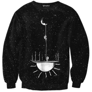 Rope To The Moon Crewneck