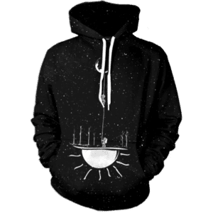 Rope To The Moon Hoodie