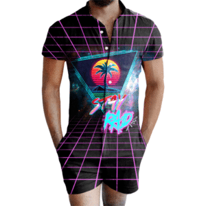 Stay Rad 1980s Romper